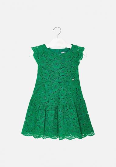 Koronkowa sukienka dziewczęca Mayoral