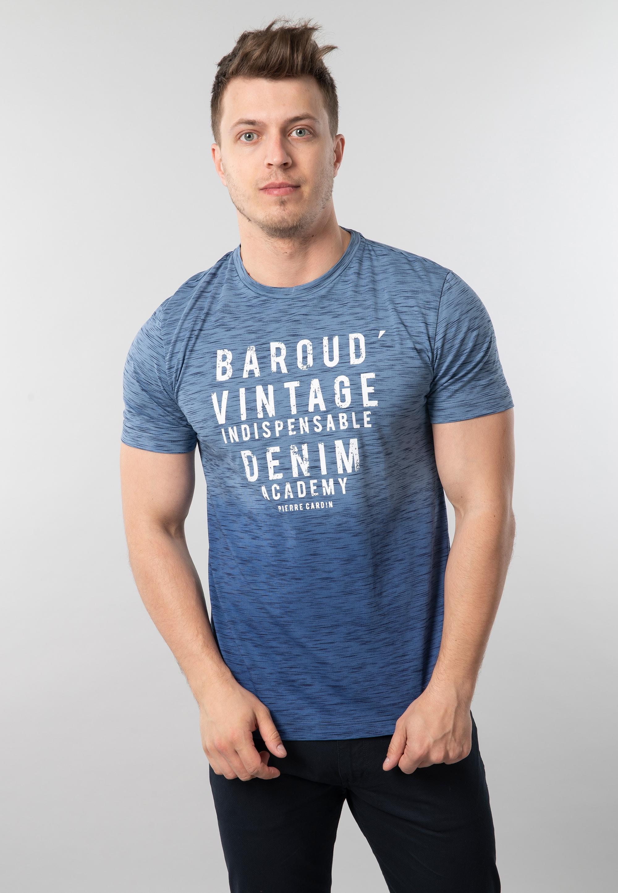 0fe8ec49d4 T-shirt męski z nadrukiem Pierre Cardin - Nico - Odzież i Obuwie