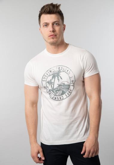 T shirt męski Wrangler Nico Odzież i Obuwie