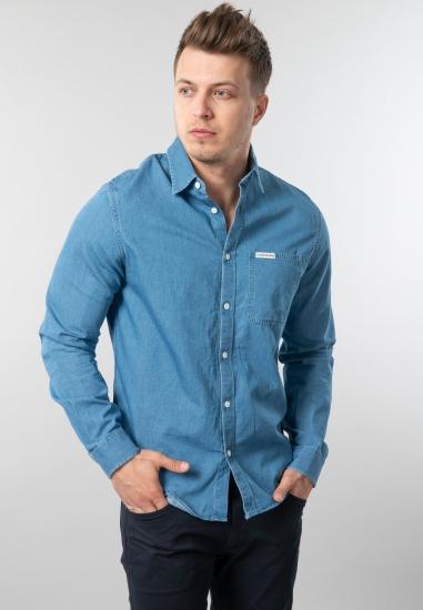 Męska koszula jeansowa regular fit Calvin Klein