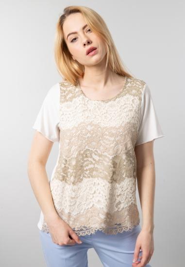 Koronkowa bluzka damska Gaia