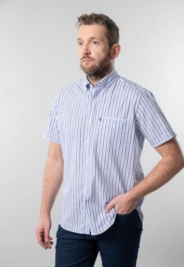 Koszula męska w paski comfort fit Navigare