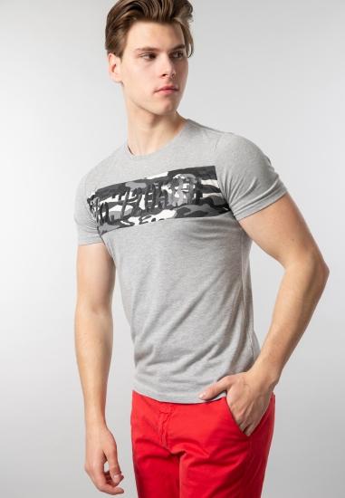 Męski t-shirt z nadrukiem Joggy