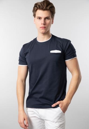 T-shirt męski basic z...