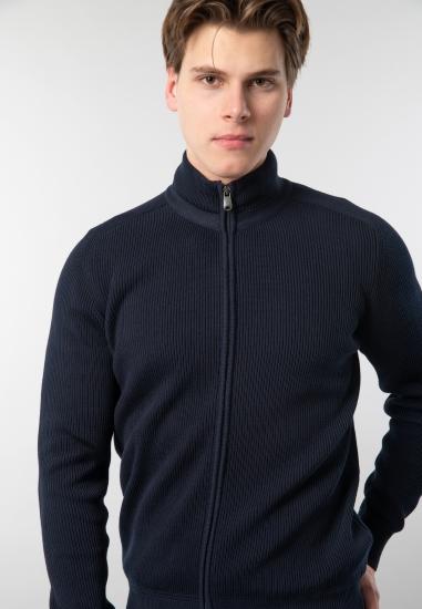 Rozpinany sweter męski Navigare