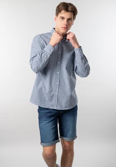 Męska koszula w kratę regular fit Curty Island