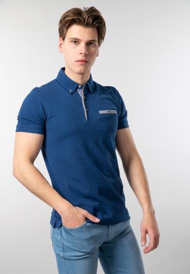 T-shirt męski polo Bugatti...