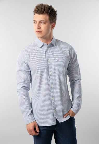 Koszula męska w paski regular fit Tommy Jeans