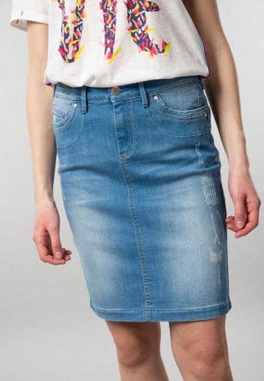 Jeansowa spódnica damska...