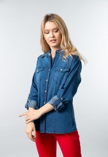 Koszula jeansowa Chiara D'alba