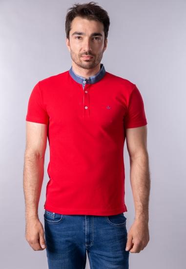 T-shirt męski ze stójką Navigare