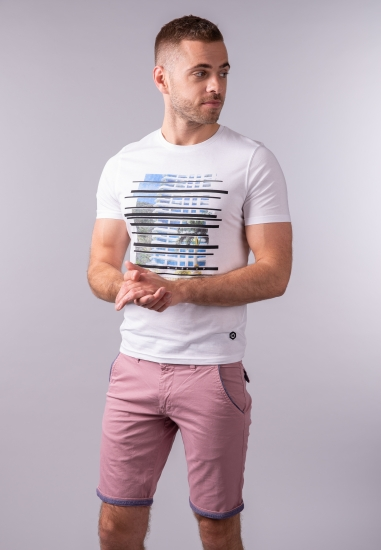 T-shirt męski z nadrukiem MarkUp