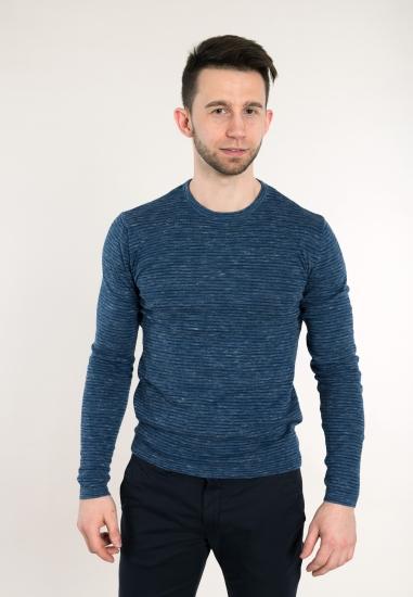 Sweter BLEND - 00774646 DENIM