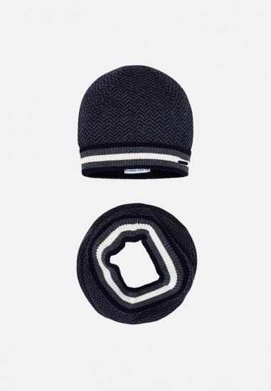 Komplet chłopięcy czapka + szalik Mayoral