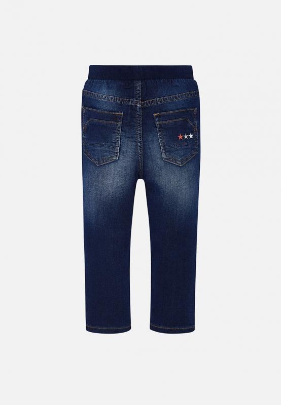 Chłopięce spodnie jeansowe jogger Mayoral