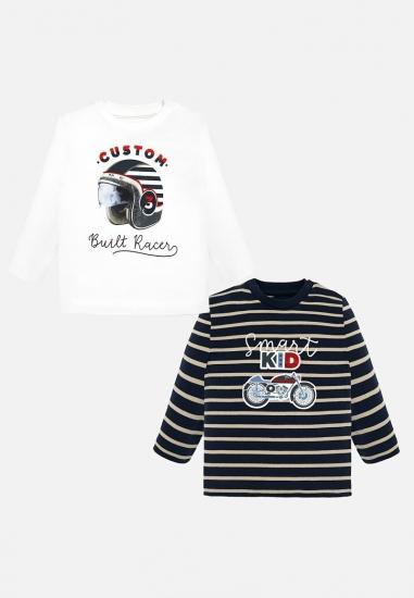 Zestaw koszulek chłopięcych Mayoral baby