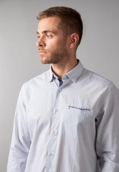 Koszula męska modern fit Pierre Cardin - 0019000 BIALY