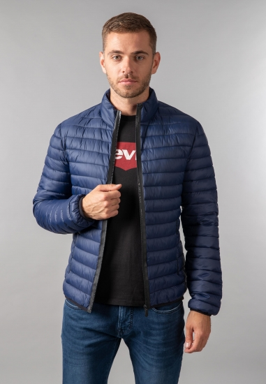 Pikowana kurtka męska Trussardi Jeans