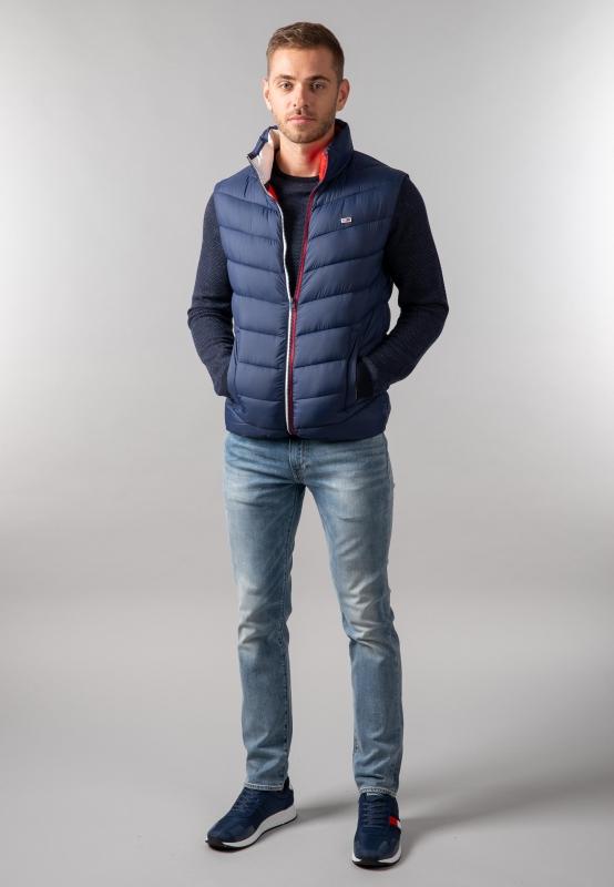 Pikowana kamizelka męska Tommy Jeans