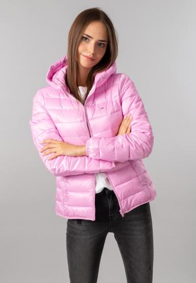 Pikowana kurtka damska z kapturem Tommy Jeans