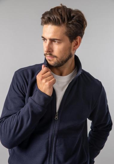 Rozpinana bluza męska Pierre Cardin