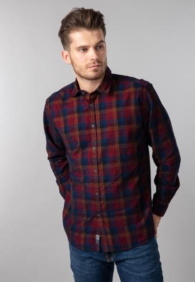 Koszula w kratkę regular fit Pioneer