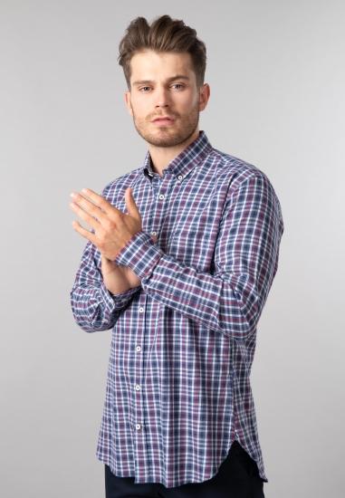 Koszula w kratkę modern fit...