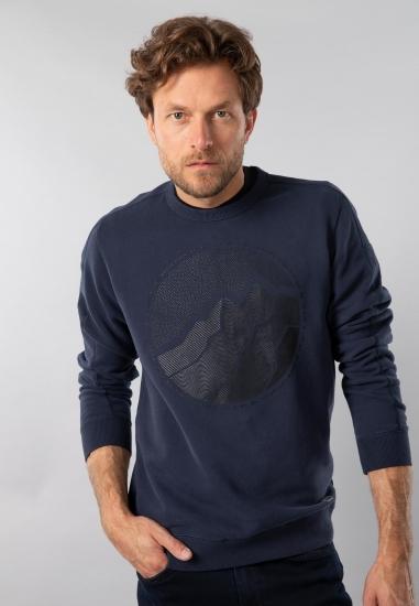 Bluza męska z nadrukiem Garcia Jeans