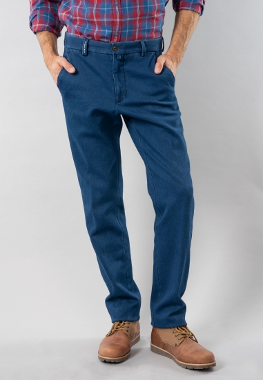 Spodnie męskie regular fit Rotte Mediterranee