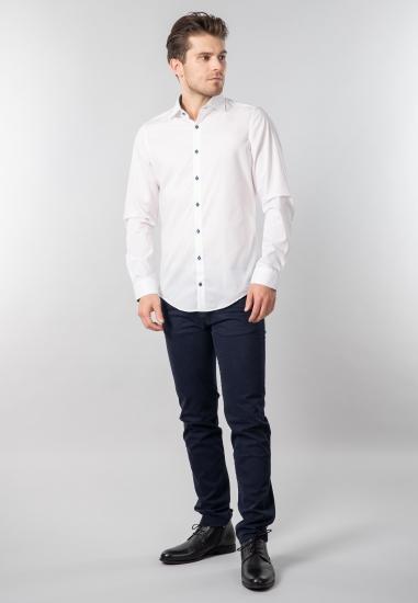 Koszula męska Redmond - 0010 BIALY
