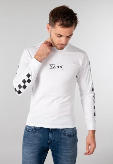 T-shirt męski Vans - 001YB21 BIALY-CZARNY