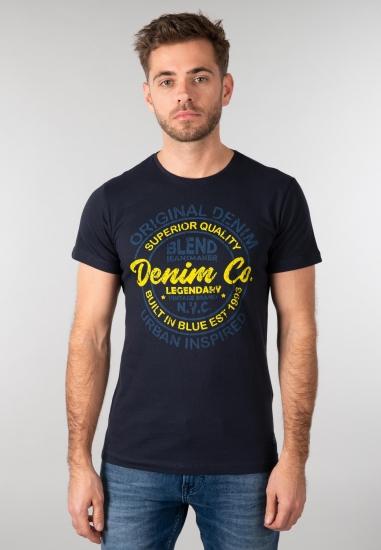 T-shirt męski Blend - 007GRANAT
