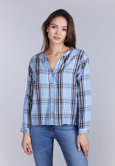 Bluzka koszulowa w kratę Street One