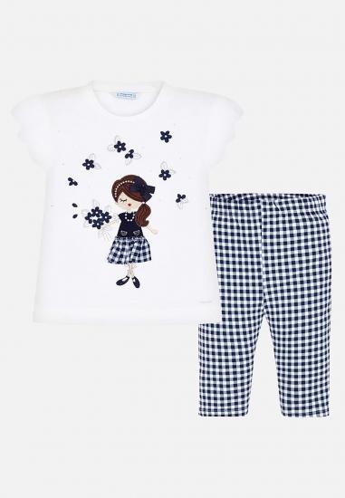 Komplet koszulka ze spdniami dla dziewczynki
