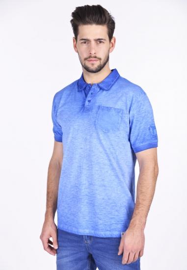 T-shirt męski polo Pioneer