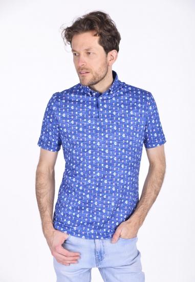 Wzorzysta koszula męska Desoto