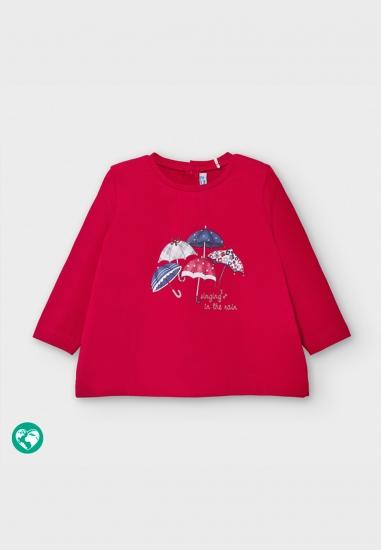 Koszulka z nadrukiem dla dziewczynki Mayoral