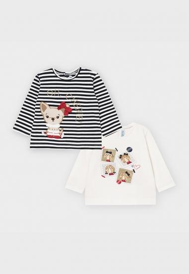 Zestaw koszulek dla dziewczynki Mayoral
