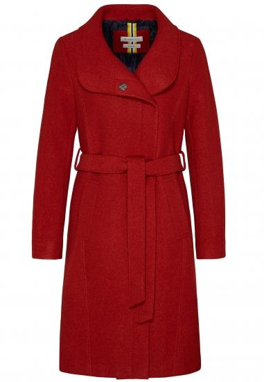 Wełniany płaszcz damski BUGATTI