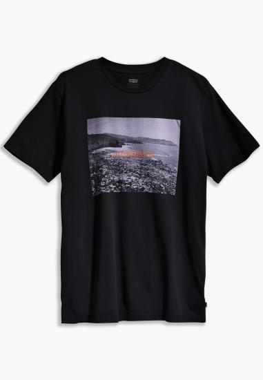 T-shirt męski z nadrukiem Levi's