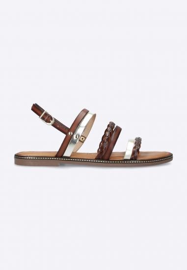 Skórzane sandały tamaris