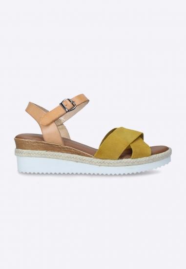 Sandały na koturnie Shoelab