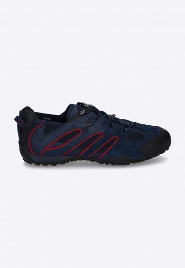 Sneakersy męskie z łączonych materiałów GEOX