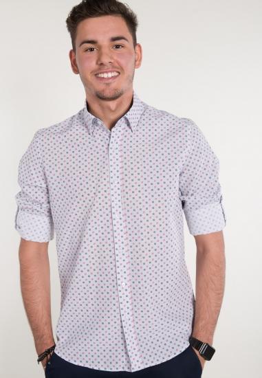 Koszula we wzory EKS -...